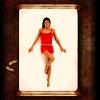 床上調戲紅衣美女